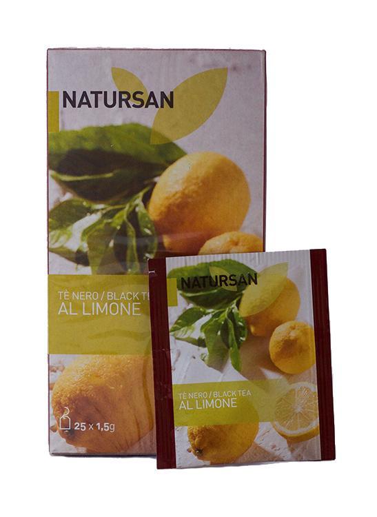 Чай черный с лимоном Natursan
