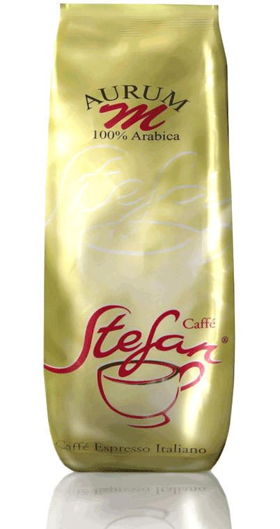Кофе зерновой арабика Stefan Aurum