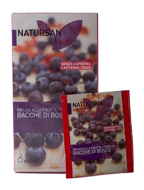 Фруктовый чай Bacche di Bosco