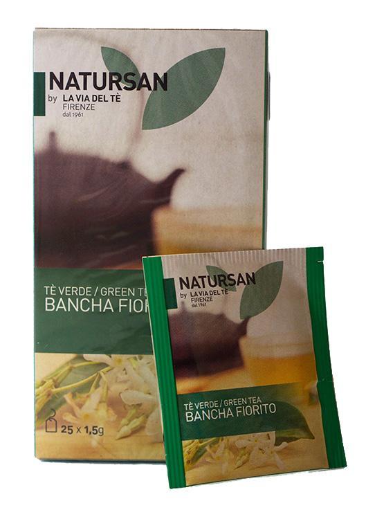 Чай в пакетиках Natursan Bancha Fiorito