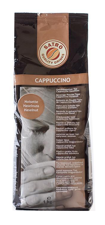 Растворимый напиток Капучино Лесной орех