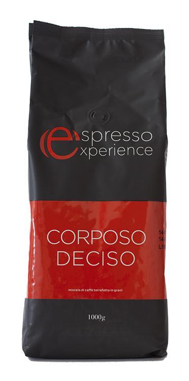 Кофе зерновой Espresso Experience Corposo Desico
