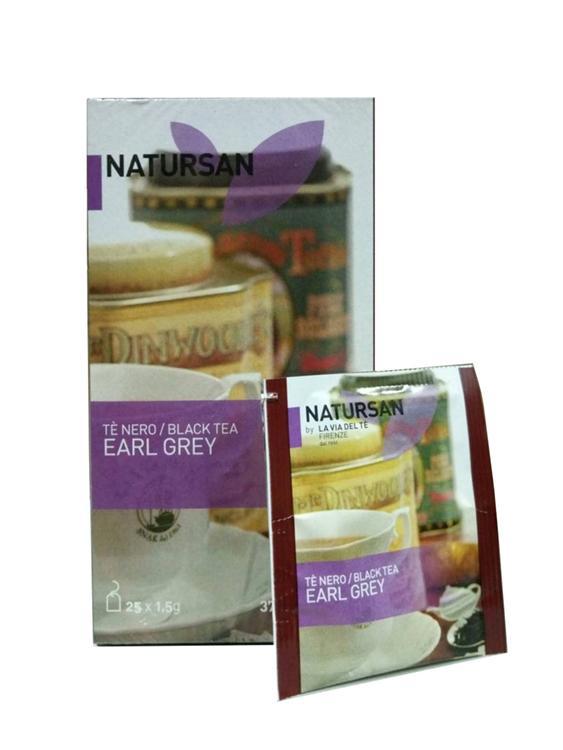 Чай в пакетиках Natursan Earl Grey