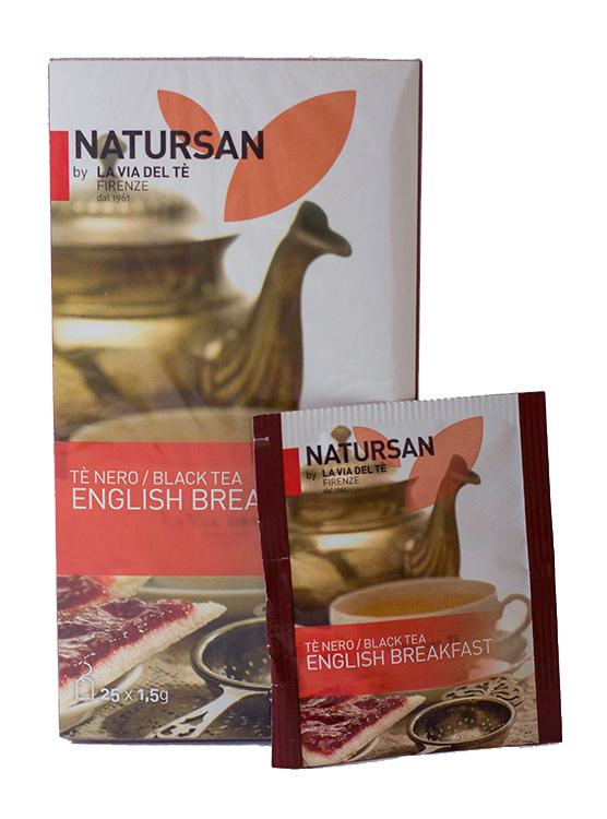 Чай в пакетиках Natursan English Breakfast