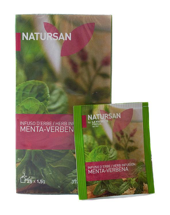 Травяной чай с мятой и вербеной Menta-Verbena
