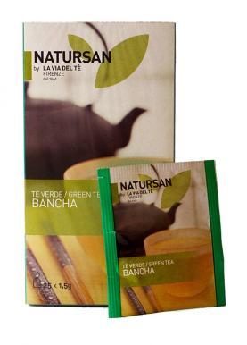 Чай в пакетиках Natursan Bancha