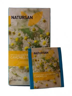 Чай в пакетиках Natursan Ромашка
