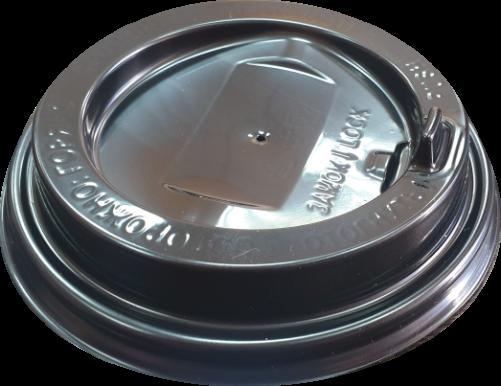 Крышка пластиковая с клапаном диаметр 90